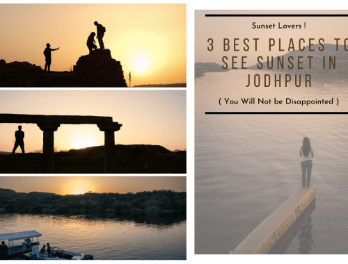 3 Best Places to See Sunset in Jodhpur