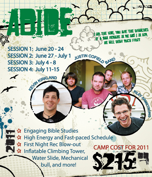 Crossroads Youth Camp Info