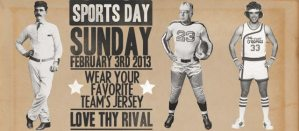 Sports Day at Crossroads Baptist Church Super Bowl Sunday