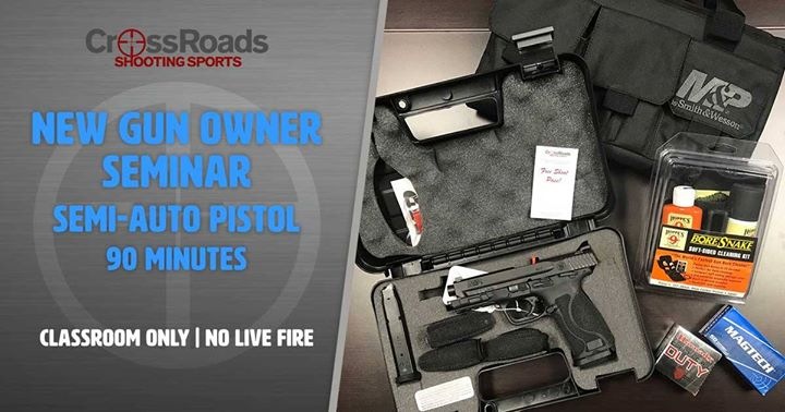 Gun Owner, CrossRoads Shooting Sports