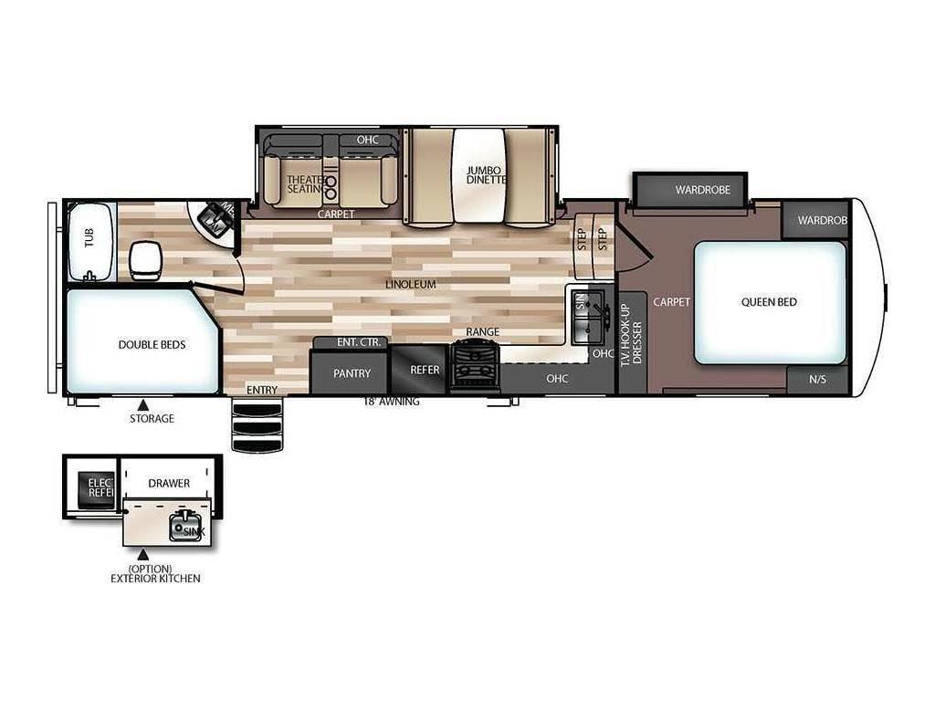 5 Must See Rv Bunkhouse Floor Plans Crossroads Trailer Sales Blogcrossroads Trailer Sales Blog