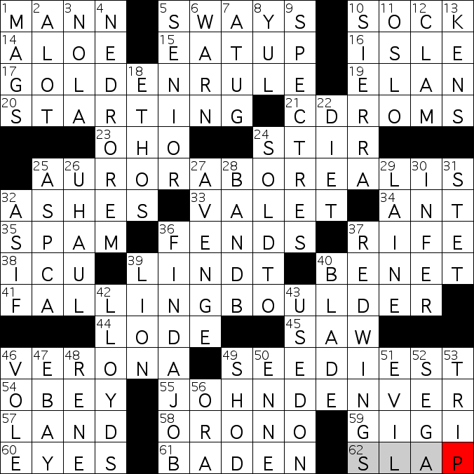 Crossword Heaven Clues And Answers