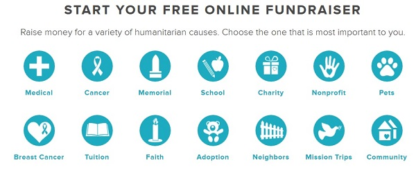 YouCaring Free Fundraising Website