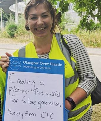 glasgow litter pick zero waste glasgow