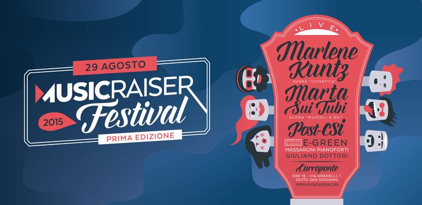 Musicraiser festival crowdfunding