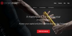 Crowd2fund mercato secondario per crowdfunding
