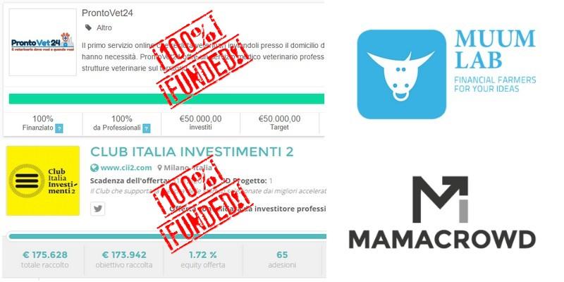 Equity Crowdfunding in Italia Muumlab e mamacrowd