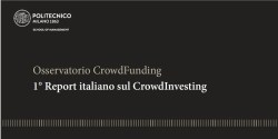 Report Crowd Investing politecnico milano
