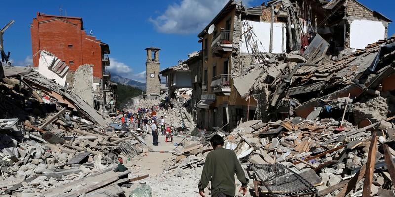 Terremoto crowdfunding nel mondo