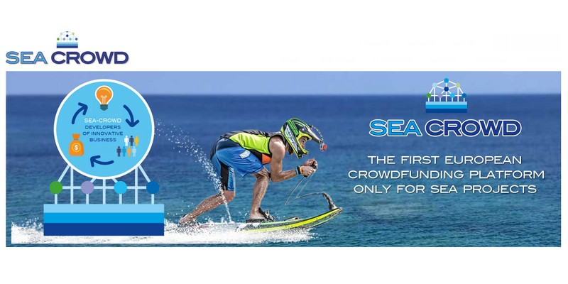 Sea-Crowd piattaforma crowdfunding dedicata al mare