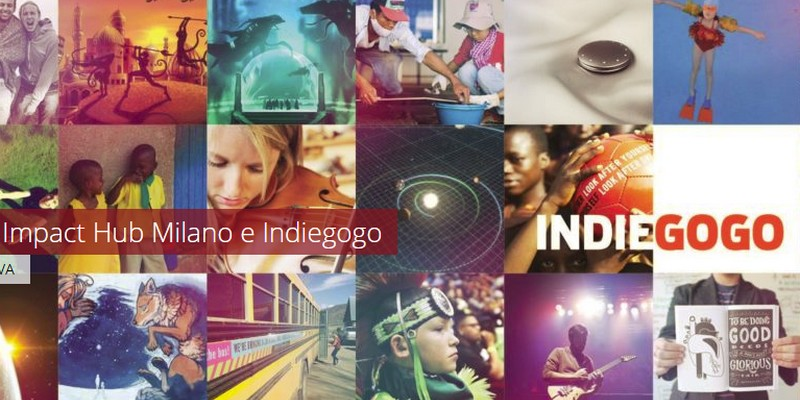 ImpactHub e Indiegogo partnership reward crowdfunding