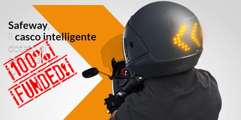 Safeway casco intelligente italiano successo equity crowdfunding su Starsup