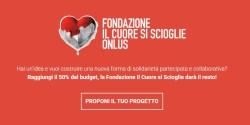 Eppela fondazione Cuore e Coop donation crowdfunding innovativo
