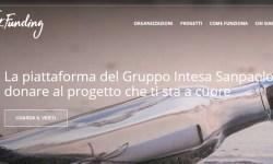 Intesa Sanpaolo lancia piattaforma donation crowdfunding