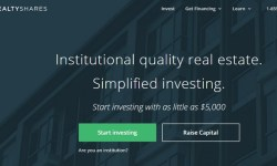 RealtyShares crowdfunding immobiliare raccoglie 28 milioni