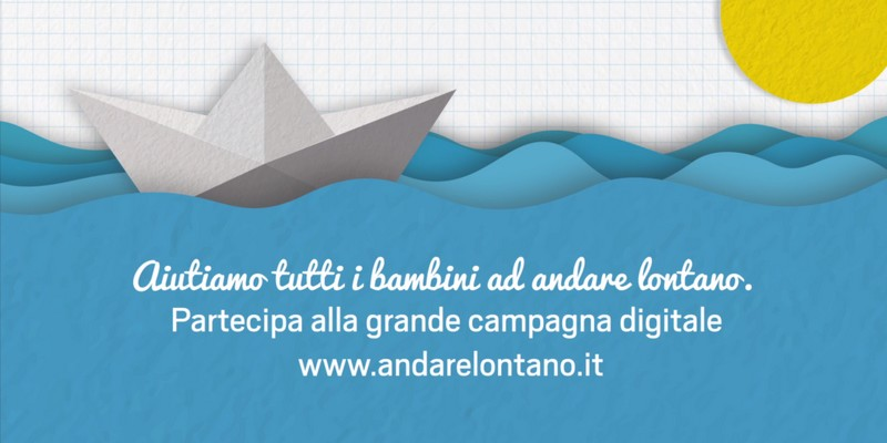 Telethon Andarelontano prima campagna donation crowdfunding