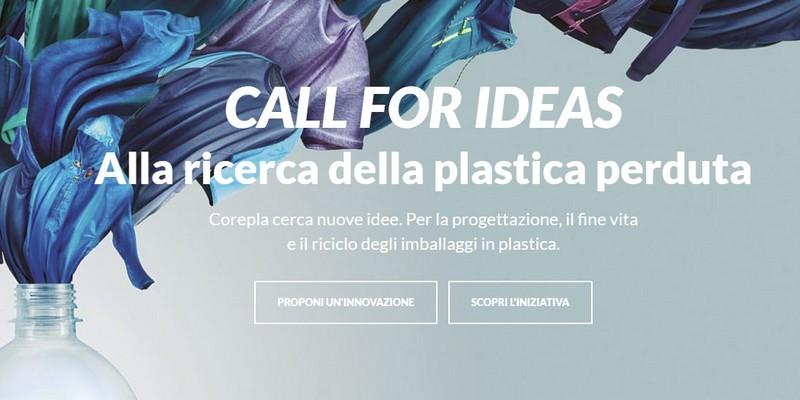 Corepla call riciclo platica con crowdfunding