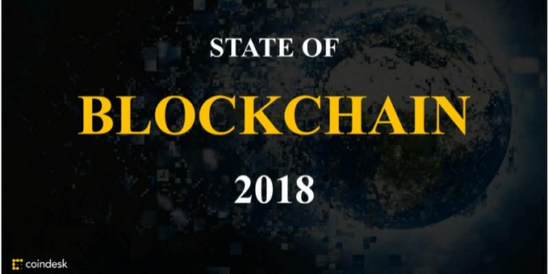 Report blockchain 2018 di Coindesk