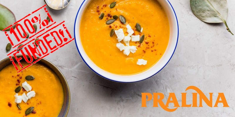 Pralina PMI food successo equity crowdfunding wearestarting