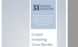 Regolamento UE crowdinvesting whitepaper di Crowd Advisors