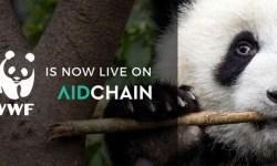 WWF partnership con aidCoin