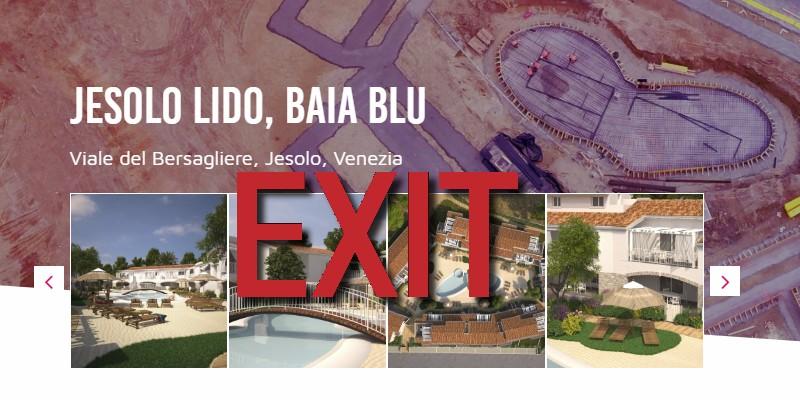 Exit crowdfunding immobiliare Italia Walliance