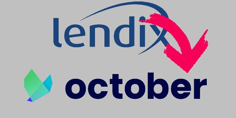 """Lendix cambia nome e diventa """"October"""". Anche un nuovo sito web e un nuovo design"""