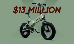 Mate bici elettrica raccoglie 13 milioni su Indiegogo