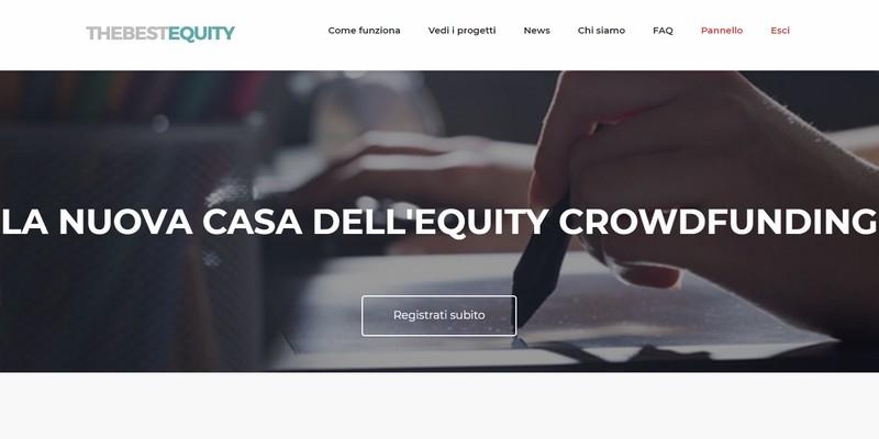 Nasce TheBestEquity nuova piattaforma di equity crowdfunding