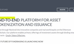 Neufund prima piattaforma europea per security token offering