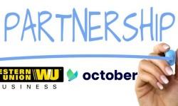 Partnership Western Union October p2p lending