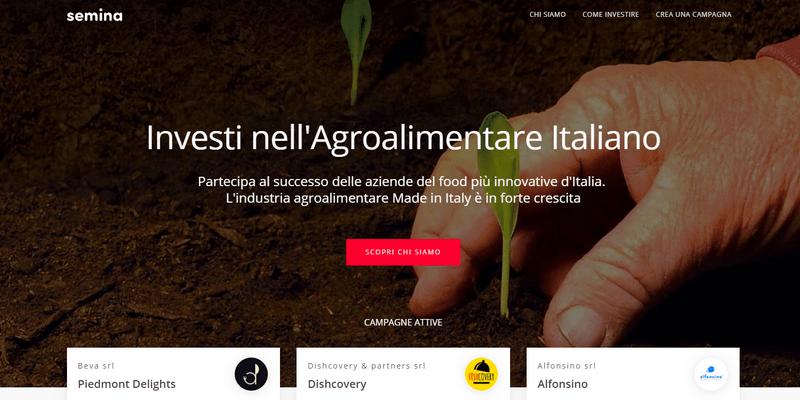 Semina nuovo hub per facilitare accesso capitale a foodtech italiano