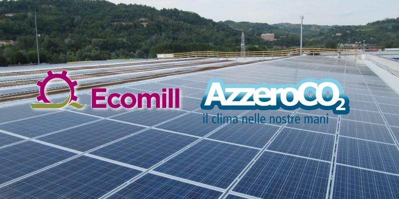 La ESCo AzzeroCO2 e la piattaforma Ecomill insieme per il finanziamento di impianti solari