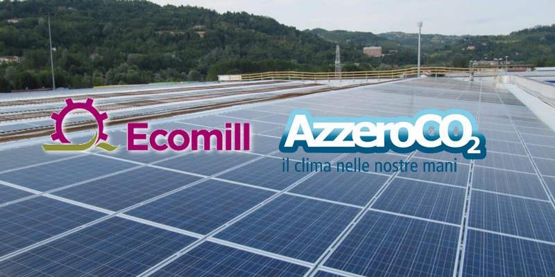 AzzeroCO2 e Ecomill partnership equity crowdfunding progetti efficienza energetica