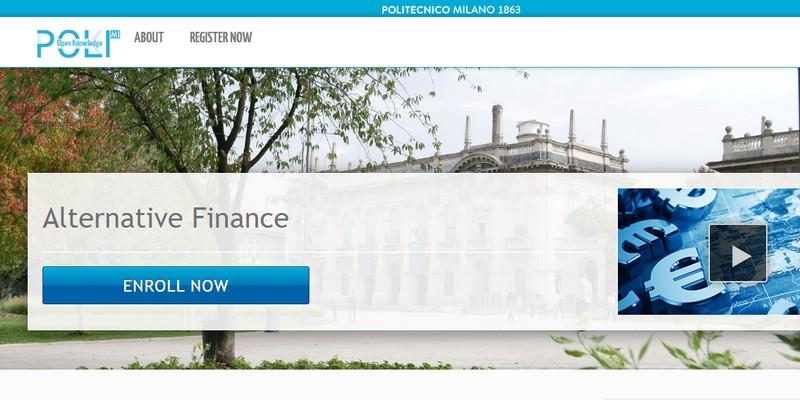 Corso online Finanza Alternativa Politecnico Milano