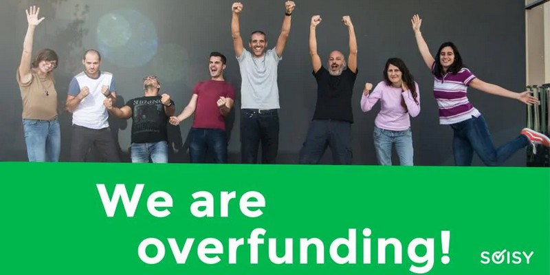 Soisy round 2 equity crowdfunding record in 12 ore