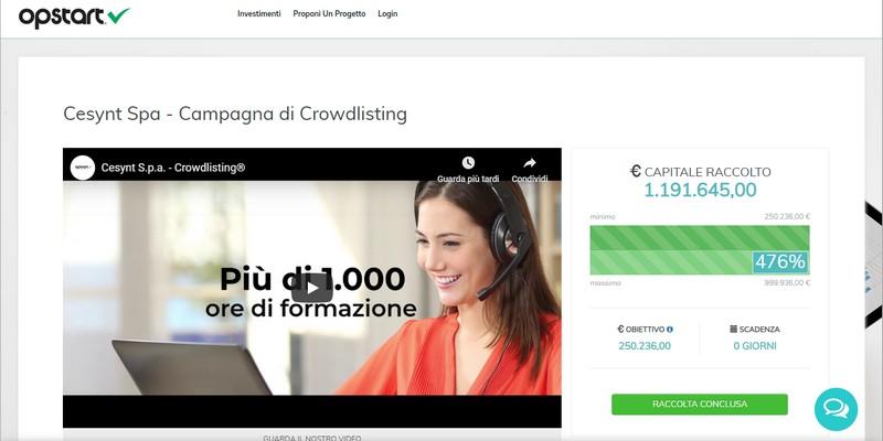 Cesynt iSkilled raccoglie 1 milione con equity crowdfunding