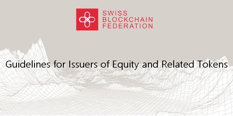Swiss Blockchain Federation guida per le emissioni di azioni tokenizzate