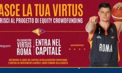 Campagna Equity crowdfunding squadra basket Virtus Roma