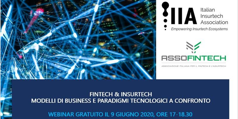 Webconference Assofintech IIA su relazioni Fintech Insurtech 9 giugno 2020