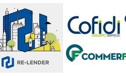 Re-lender P2P lending partnership Cofidi e Commerfin
