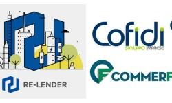 Re-lender P2P lending partnership Cofidi e Commerfin