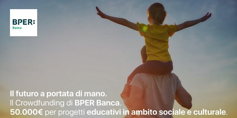 """La call for crowdfunding di BPER Banca """"Il futuro a portata di mano"""" ha selezionato 5 progetti su 120"""