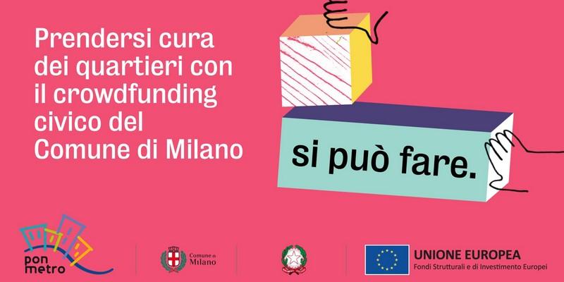 Crowdfunding civico comune Milano su ProduzionidalBasso 2020
