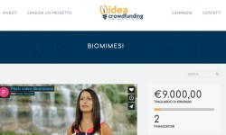 Idea Crowdfunding al via con startup Biomimesi