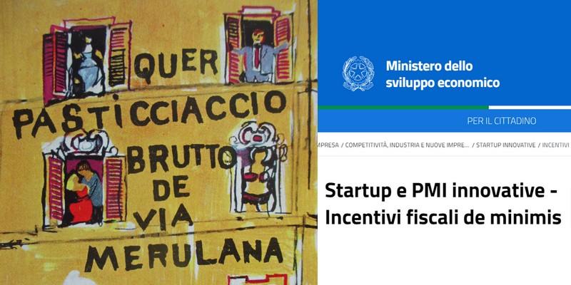 Problemi beneficio fiscale 50% startup e PMI