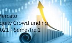 Equity Crowdfunding Italia 1 semestre 2021