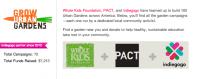 Grow Urban Gardens Indiegogo Whole Kids Foundation
