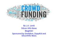 L.A. Lorek Crowdfunding Securities