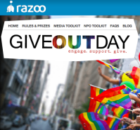 Give Out Day on Razoo